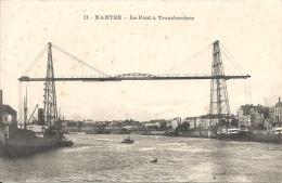 NANTES - 44 -   Le Pont Transbordeur, Vue D'ensemble -  -130713 - Nantes