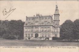 Melle    Château De Runnenborg    Scan 4750 - Melle