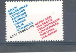Nederland 1978 Elections Du Parlement Europeen MNH **  NVPH 1173 Yvert 1105 - Institutions Européennes