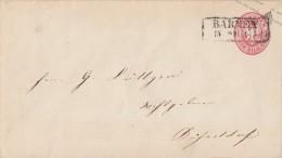 Preussen GS-Umschlag 1 Gr. Barmen 15.2.62 Gel. Nach Düsseldorf - Preussen