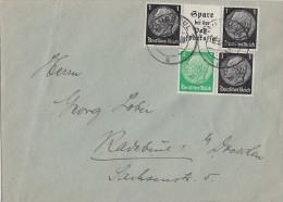 DR Ortsbrief Mif Zdr. Minr.W59, W98 Radebeul - Briefe U. Dokumente