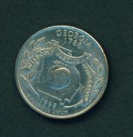 UNITED STATES - 1999 25c Circ. (Georgia) - Federal Issues