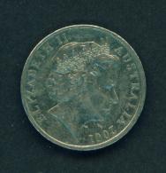 AUSTRALIA - 2001 10c Circ. - Decimal Coinage (1966-...)