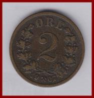 NORWEGEN 2 Øre 1907 - Norway