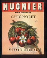 Etiquette De Guignolet     -   Les Petits Fils De Frédéric Mugnier  à  Dijon  (21) - Labels