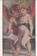 ANGELS POSTCARD - ART CARD - DUE ANGIOLI . ANDREA DEL SARTO - Angels