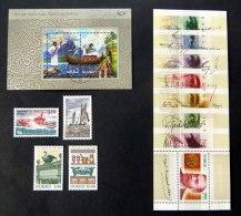 1991/2004, 4 Ausgaben Postfr. Bzw. Sauber Gest., Mi.Nr. 1066/67, 1172/73, Bl. 22 + 25 - Norwegen