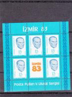 Turkey Minisheet: 1983 Izmir  UM/MNH (G34-3) - Turkey