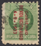 1 C., 1933, Scott # 317, Used - Cuba