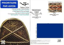 Estonia Estland Estonie 2004 Special Postmark - Fourth World Congress Of Finno - Ugric Peoples (addressed) - Estonia