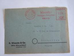 Germany Duitsland Allemagne EMA 1950 Woeste Fittings U. Flanschen Dusseldorf Op Fragment - [7] Federal Republic