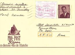Carte Postale Avec Vignette - Entiers Postaux - Postage Labels