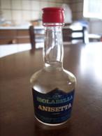 Anisetta Isolabella: Bottiglia Mignon Tappo Plastica. Stab. Milano (liquore) - Alcoolici