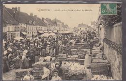 45   COUETENAY / JOUR DE MARCHE       /////     REF SELECT 45 C - Courtenay