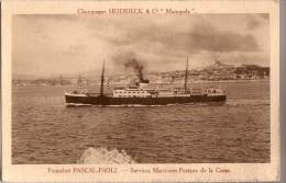 Paquebot PASCAL-PAOLI - Services Maritimes Postaux De La Corse - Paquebots