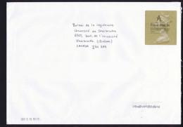 2013  Lettre  Pour Le Canada,  Etiquette Port Payé £3,30 - Covers & Documents