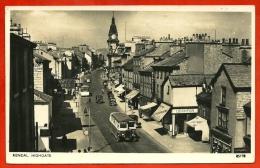 CPSM Post Card UK England - KENDAL - HIGHGATE * Bus Autobus - Cumberland/ Westmorland