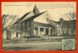 CPA 91 SAULX-Les-CHARTREUX Essonne - L' Eglise (commentaire Historique) ° Edition De L' Yvette - Other Municipalities