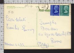 B9107 HONG KONG Postal History 1977 30c 40c - Cina