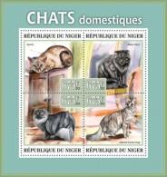 nig13319a Niger 2013 Domestic cats s/s Scott:1179