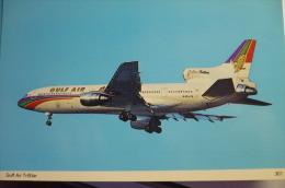 TRISTARD     GULF AIR   A40 TX - 1946-....: Moderne