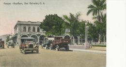 """San Salvador  Parque """" Duenas """" Color Auto Camion - Salvador"""