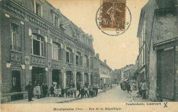 MONTATAIRE - 60 - Rue De La République (CPA Animée, Commerces) - Montataire