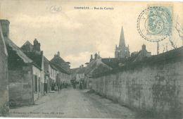 VERNEUIL - 60 - Rue Du Carroir (CPA Animée) - France