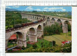 CUNEO  -  Viadotto E Ferrovia - - Ouvrages D'Art