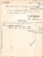 ZWICKAU SAXE  SACHSEN  FIKENTSCHER 1898 - 1800 – 1899