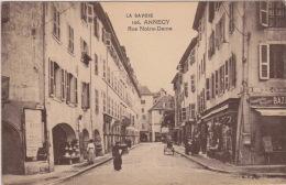 CPA 74 ANNECY Rue Notre Dame - Annecy