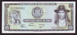 PERU - 50 Soles 1977 - Peru