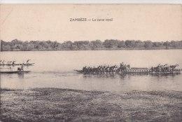 ¤¤  -   ZAMBEZE Ou ZAMBESE   -  Le Canot Royal  -  Pirogues   -  ¤¤ - Postcards