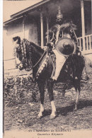 ¤¤   -  20  -  DJIBOUTI  -  Guerrier Abyssin  -  Cheval , Cavalier  -  ¤¤ - Gibuti
