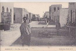 ¤¤   -  6  -  DJIBOUTI  -  Une Rue De La Ville -  ¤¤ - Gibuti