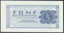 Germany - Military 5 Reichsmark 15.9-.1944 Pick M39 UNC - [ 4] 1933-1945 : Third Reich