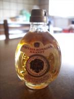 Brandy Vecchia Romagna Etichetta Bianca: Bottiglia Mignon Tappo Plastica. Gio. Buton (Bologna) Stab. Casapulla Caserta - Alcoolici