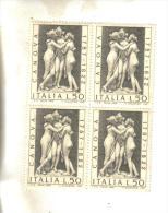 Francobolli Italia-quartina-canova  1972 - 6. 1946-.. Repubblica
