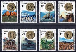 Poland 1973 Scientists Set Of 8 MNH - Nuevos
