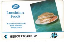 UK - Boots/Lunchtime Foods(PYBO004), CN : 1PBOD, Tirage %72215, Used - United Kingdom