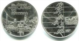 Finland - 10 Markkaa 1971 (European Athletic Championships) - KM 52 - Vz++ - Finnland