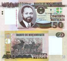 MOZAMBIQUE 50 METICAIS 2006 P 144 UNC - Mozambique