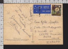 B9149 AUSTRALIA Postal History 1970 FLOWERS AIR MAIL GRAFTON - 1966-79 Elizabeth II