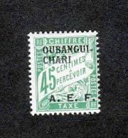 OUBANGUI   Y&T  TAXE N°6
