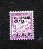 OUBANGUI   Y&T  TAXE N° 11