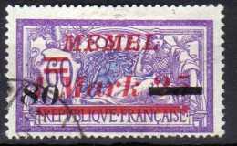 Memel 1922 Mi 120, Gestempelt [140713VI] @ - Memelgebiet