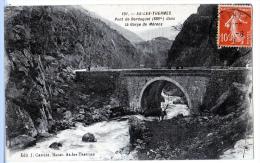 Ax-les-Thermes (Ariège)  Aux Environs, Pont De Berduquet. - Ax Les Thermes
