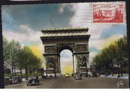 1938  Arc De Triomphe 20è De L'Armistice   Carte Postale Vraie Photo.  Circulée - Cartoline Maximum