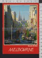 S6739 AUSTRALIA MELBOURNE BOURKE ST. MALL TRAM VG - Melbourne