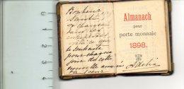 Mini Calendario 1898 Almanach Francese - Formato Piccolo : ...-1900